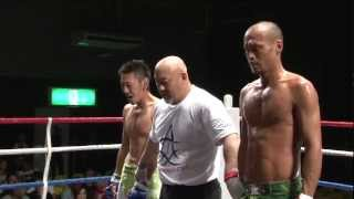 (7.7.2012 ディファ有明 第22試合) WARU下克上 -70kgワル日本一決定ト...