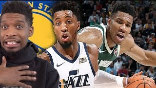 GIANNIS TO THE WARRIORS!? Milwaukee Bucks vs Utah Jazz - Full Game Highlights