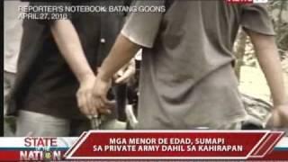 GMA News Investigates: Minors join private armies in Abra