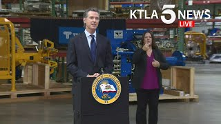 Coronavirus: Newsom asks Imperial County to reinstate stay-at-home order as positivity rate climbs|KTLA 5