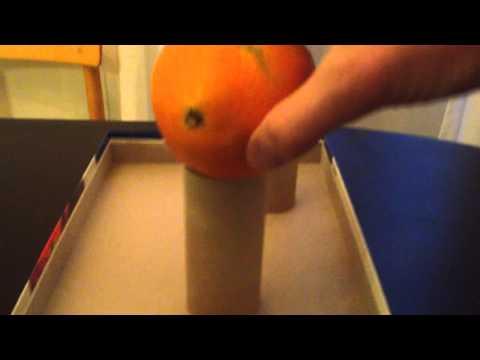 A magic trick with oranges