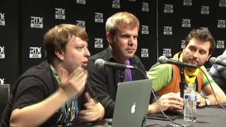 RWBY RTX 2016 First Panel (AUDIBLE EDITION)