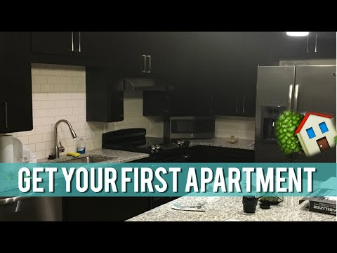 HOW TO GET YOUR FIRST APARTMENT + APT TOUR :)