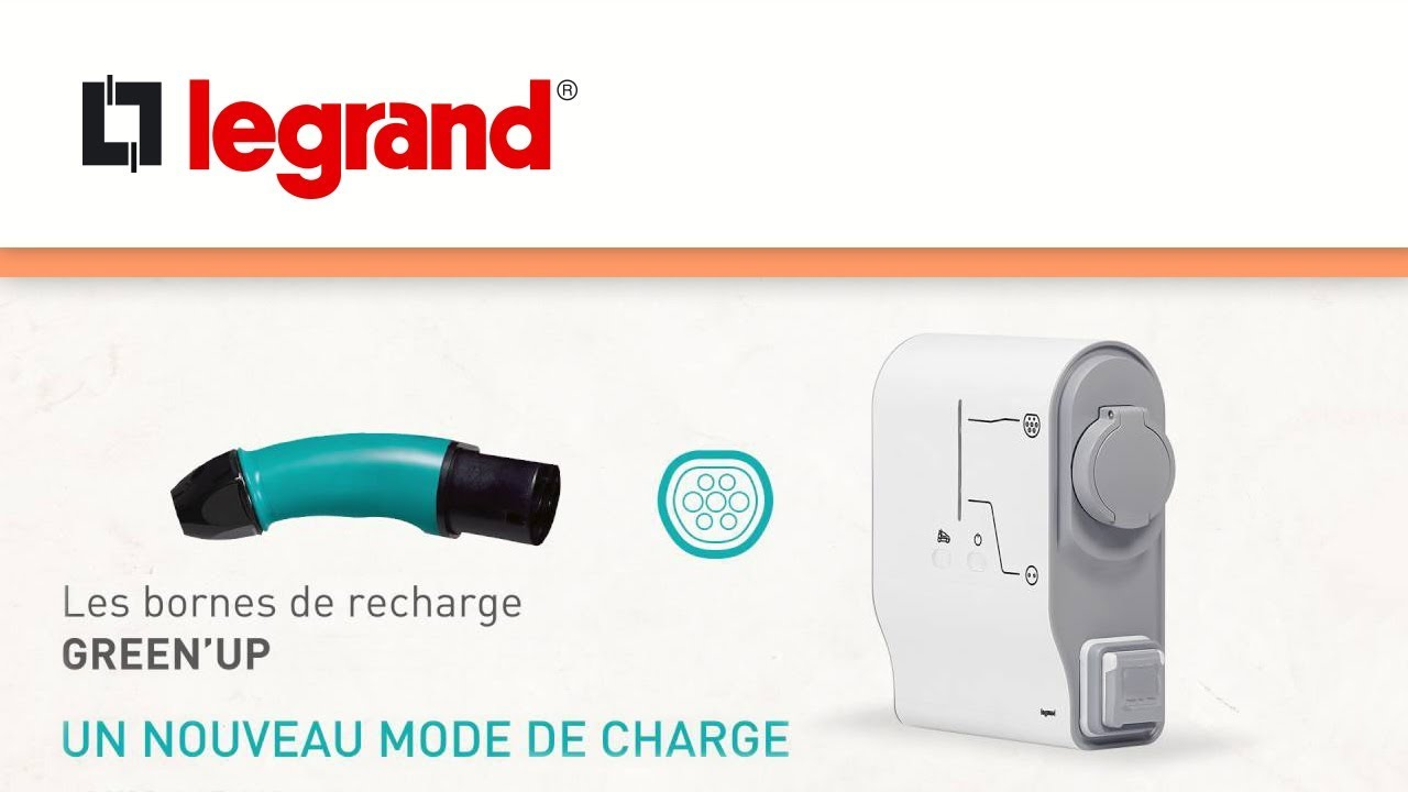 prise green 39 up de legrand la solution de recharge pour v hicule lectrique youtube