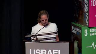 2019 Israel Impact Summit - Baroness Ariana de Rothschild