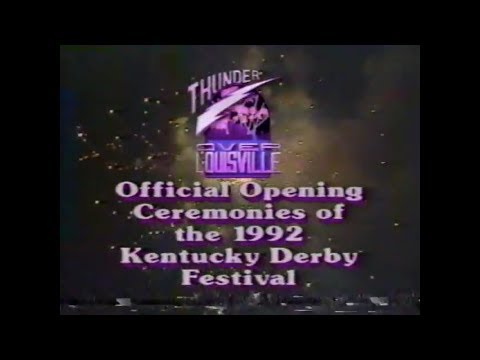 Thunder Over Louisville 1992 WHAS 11 Coverage (old VHS recording)