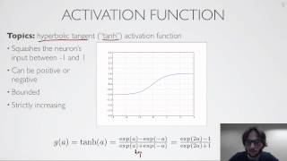 Neural networks [1.2] : Feedforward neural network - activation function