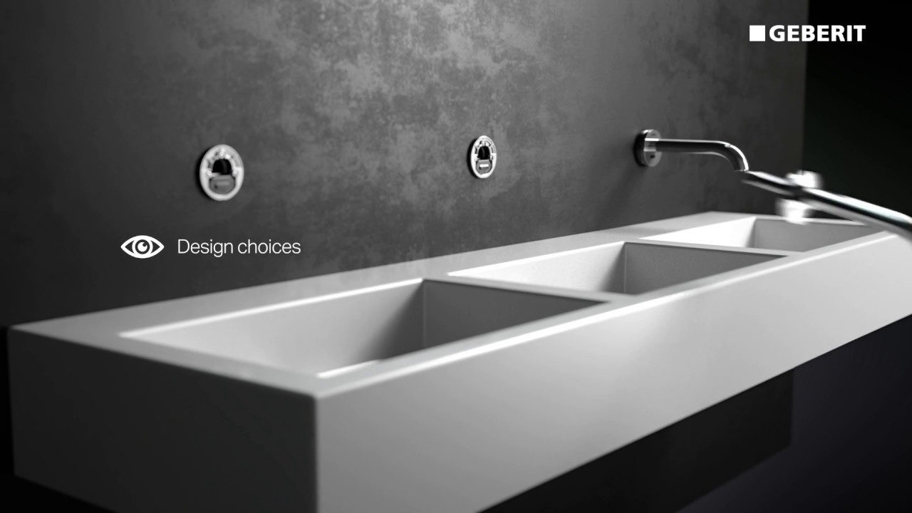 Geberit Tap System - Functionality - YouTube