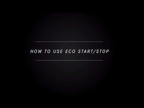 How To Use Eco Start Stop