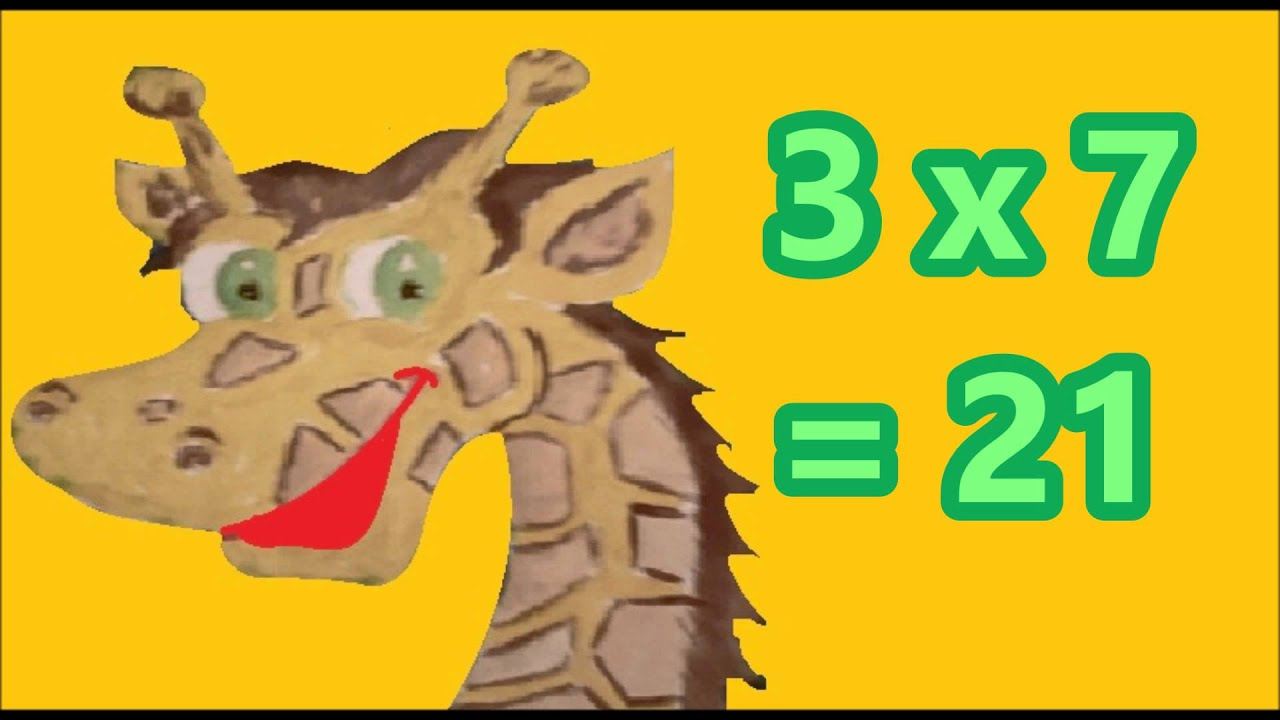Table de Multiplication de 3 - YouTube