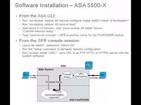 CCIE-Security Ver  5 0- Section-1- ASA with SFR 6 1