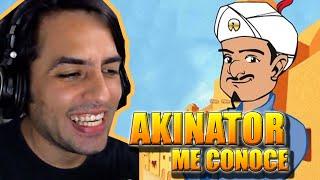 AKINATOR ME CONOCE! -  EL GENIO CONOCE A EHLIAX - AKINATOR