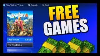 How To Download Free Ps4 Games! *WORKING 100% * January 2018 ( HACK AND TRICK)