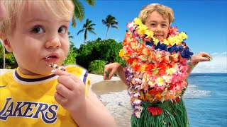 TURNING MY HOUSE INTO A HAWAIIAN VACATION!!!