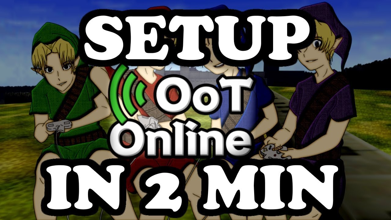 HOW TO SET UP OoT Online in 2 Minutes (1 0 2)