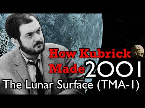 How Kubrick Made 2001: A Space Odyssey - Part 3: The Lunar Surface (TMA-1)