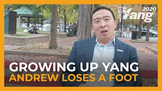 Growing Up Yang - Andrew Loses a Foot