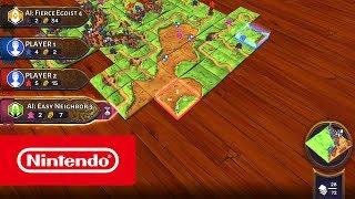 Carcassonne - Launch Trailer (Nintendo Switch)