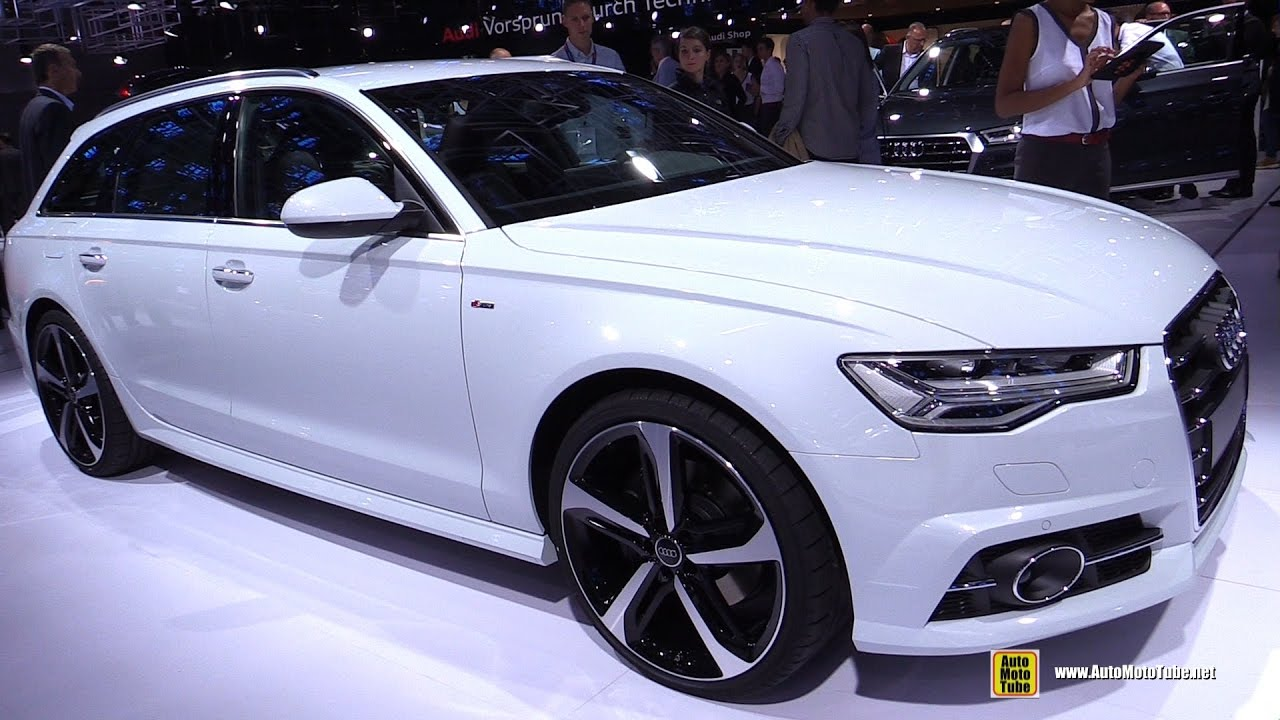 2017 audi a6 3 0 tdi quattro avant exterior and interior walkaround 2016 paris motor show. Black Bedroom Furniture Sets. Home Design Ideas