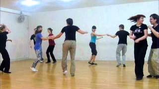 Буги-вуги. Танец на тренировке 19.04.2011