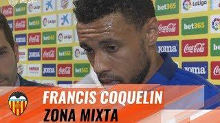 COQUELIN: 'ME HE ENCONTRADO LOS 30 MINUTOS A UN BUEN NIVEL'