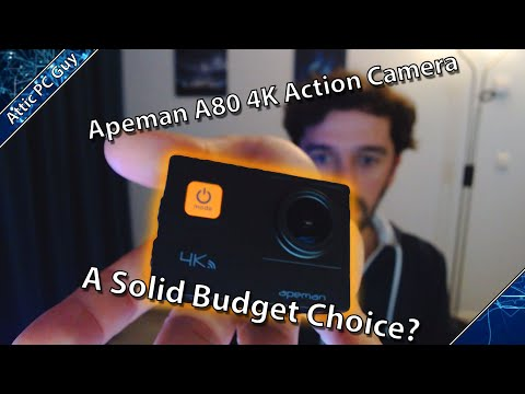 Apeman A80 Action Camera Review - A Great budget Outdoor Camera?