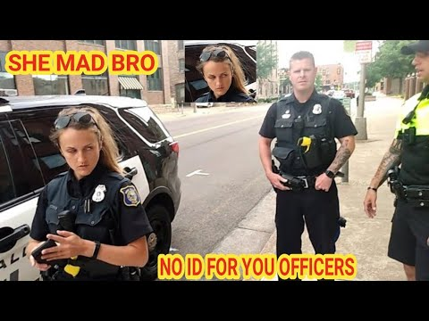I Need Id Now Cops Owned I Don T Answer Questions First Amendment Audit Youtube