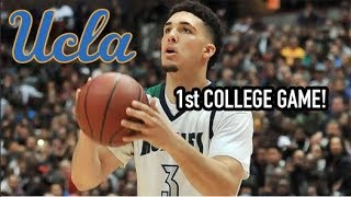 LiAngelo Ball FIRST COLLEGE GAME? 1 and DONE?