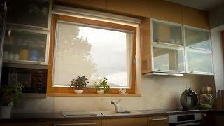Látková roleta Orion značky CLIMAX oknům sluší