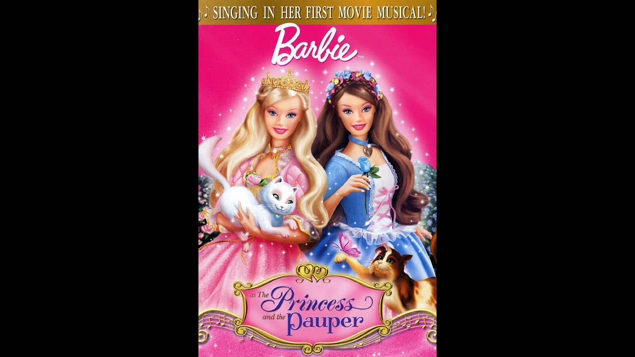Barbie Youtube: Opening To Barbie As The Princess And The Pauper VHS 1998