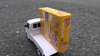 1.480円と安かったので買ってきた軽トラ、スズキ・キャリーのラジコンカ...