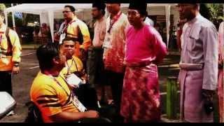 Suasana Hari Raya KBS Paralimpik