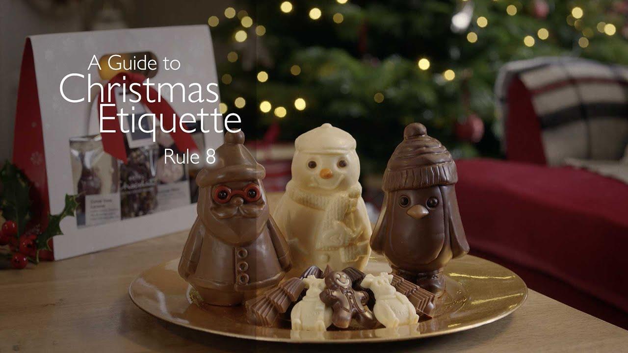 Hotel Chocolat Christmas Etiquette: Rule Eight