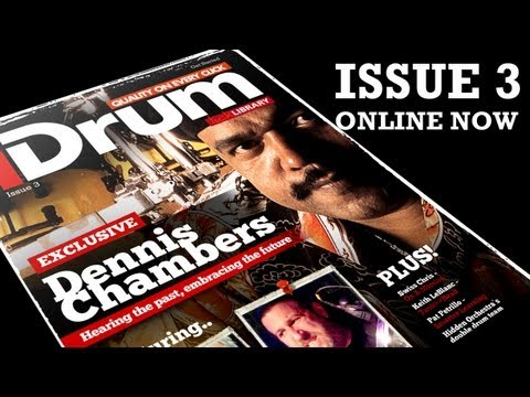 iDrum Magazine - Issue 3 Dennis Chambers - Introduction And Overview - www.idrummag.com