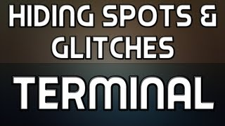 MW3: Hiding Spots + Glitches on Terminal