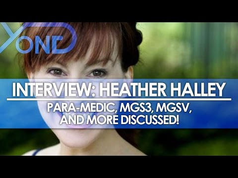 The Codec - Heather Halley Interview: Para Medic, MGS3, MGSV, and More Discussed!