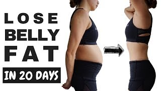 How To Lose Stubborn Belly Fat in 20 Days