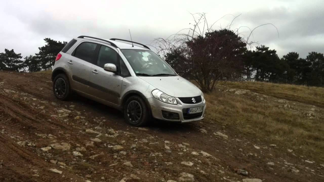 suzuki sx4 4x4 offroading 4 part 2 youtube. Black Bedroom Furniture Sets. Home Design Ideas
