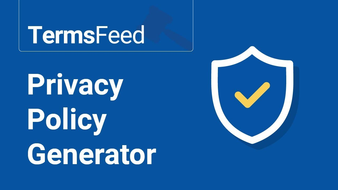 free privacy policy generator for apps