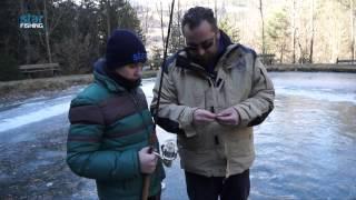 Pesca alla trota sul lago ghiacciato di Rio Mulino (2° tempo) - Star Fishing.TV