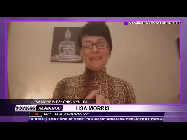 Lisa Morris Psychic Medium - March 19, 2019