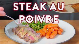 Download Binging with Babish: Steak au Poivre from Archer Mp3 and Videos