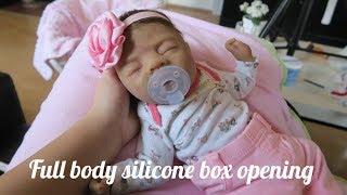 Full Body Silicone Girl Box Opening!