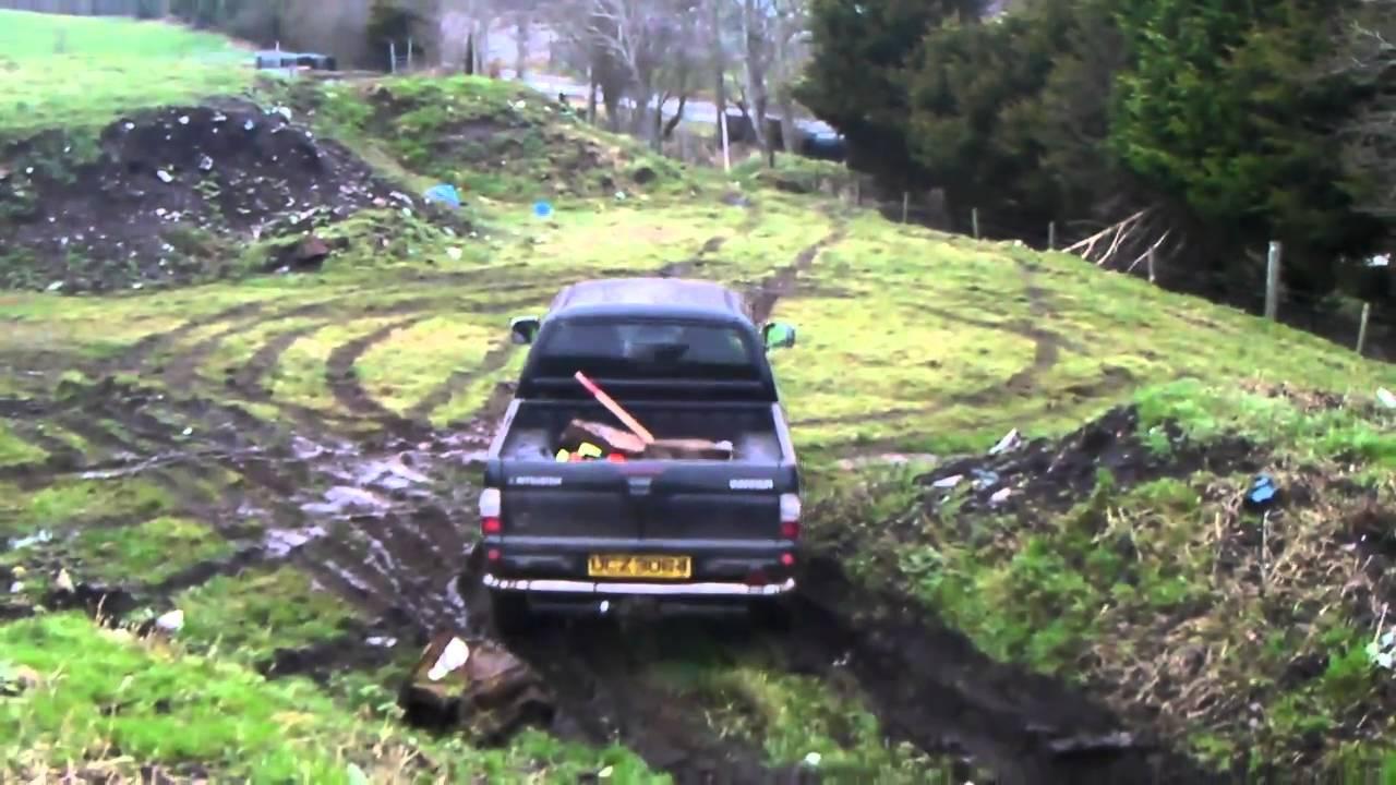 Mitsubishi L200 Off Road 2011 Youtube