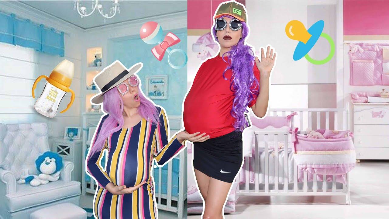 Desafio Embarazada - Tenemos Un Bebe / Mali y Emita