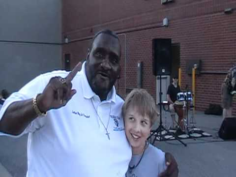 """John """"Rocky"""" meets Julius Campbell from Remember the ..."""
