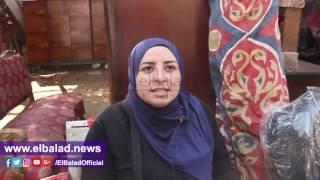 بائعو سوق التونسى بالخليفة يرفضون النقل :'هيتخرب بيتنا' ..فيديو وصور