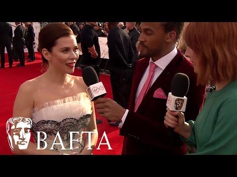 Anna Friel Red Carpet   BAFTA TV Awards 2017