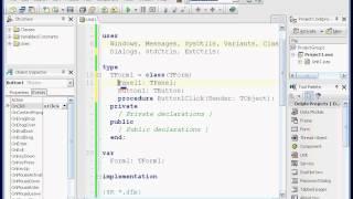 Программирование в Delphi lesson 2.1 (Кнопки)