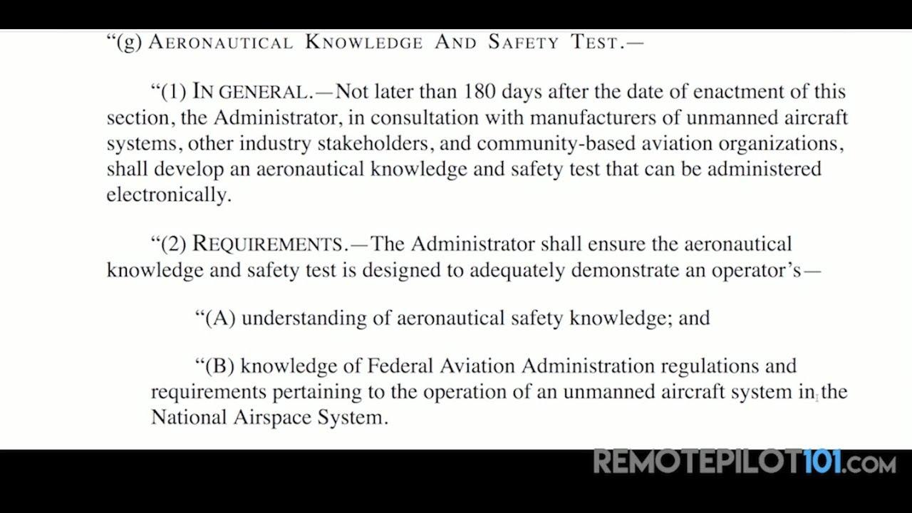 FAA testing for drone hobbyists? | DJI Mavic Drone Forum